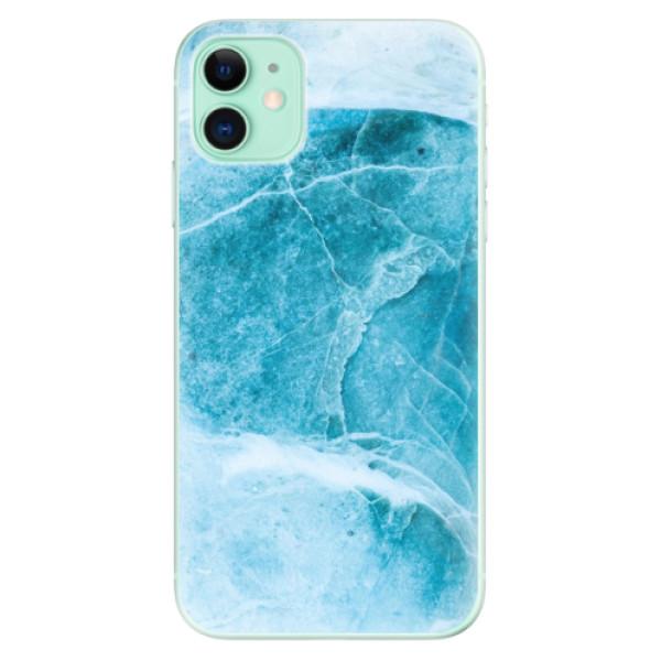 Silikonové odolné pouzdro iSaprio - Blue Marble na mobil Apple iPhone 11