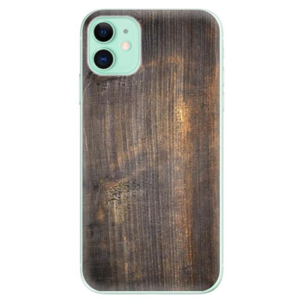 Silikonové odolné pouzdro iSaprio - Old Wood na mobil Apple iPhone 11