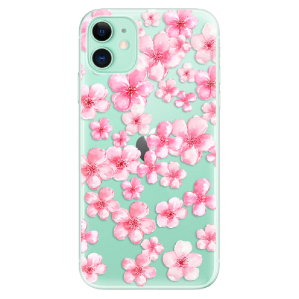 Silikonové odolné pouzdro iSaprio - Flower Pattern 05 na mobil Apple iPhone 11
