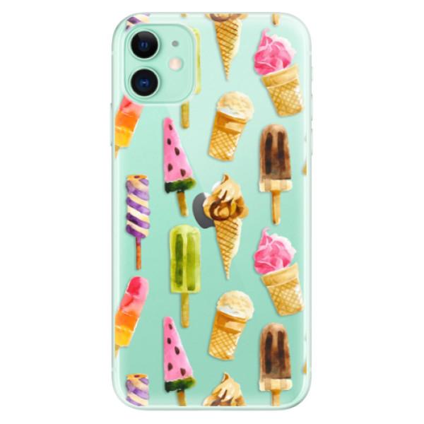 Silikonové odolné pouzdro iSaprio - Ice Cream na mobil Apple iPhone 11