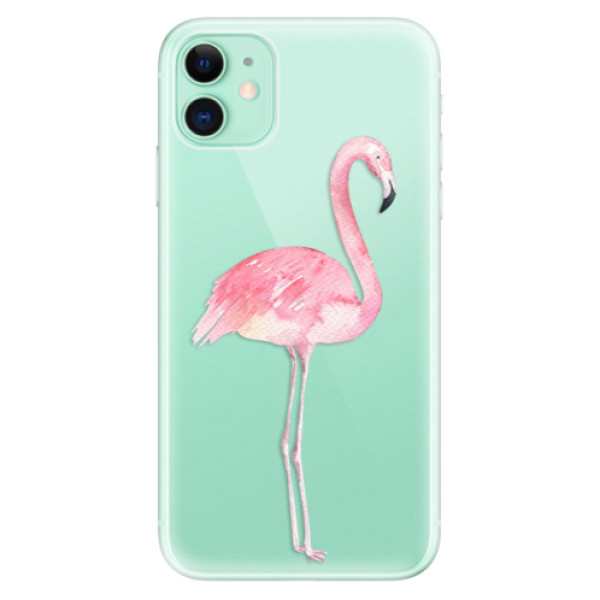 Silikonové odolné pouzdro iSaprio - Flamingo 01 na mobil Apple iPhone 11