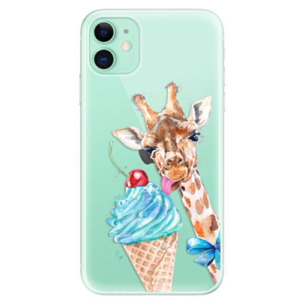 Silikonové odolné pouzdro iSaprio - Love Ice Cream na mobil Apple iPhone 11
