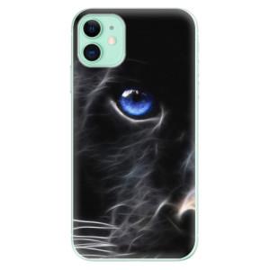 Silikonové odolné pouzdro iSaprio - black Puma na mobil Apple iPhone 11