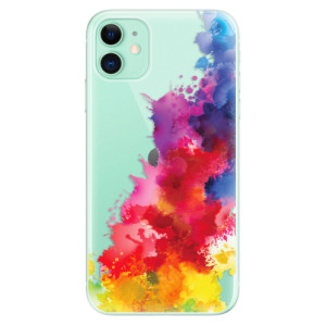 Silikonové odolné pouzdro iSaprio - Color Splash 01 na mobil Apple iPhone 11