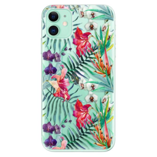 Silikonové odolné pouzdro iSaprio - Flower Pattern 03 na mobil Apple iPhone 11
