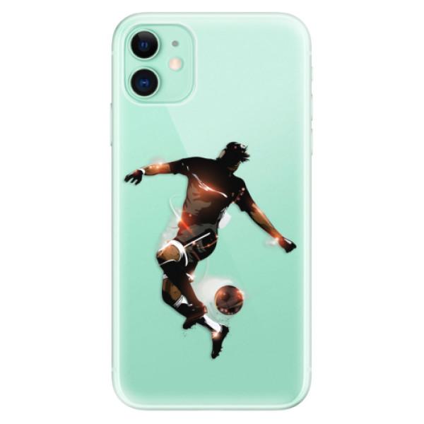 Silikonové odolné pouzdro iSaprio - Fotball 01 na mobil Apple iPhone 11