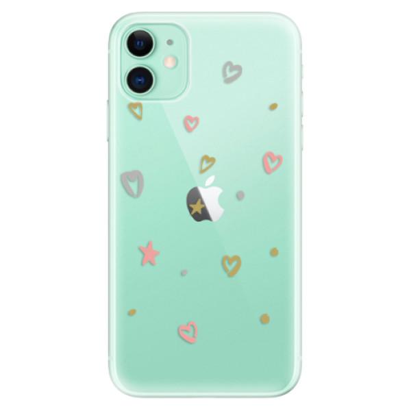 Silikonové odolné pouzdro iSaprio - Lovely Pattern na mobil Apple iPhone 11