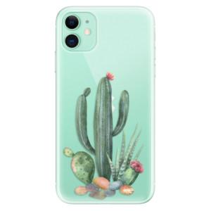 Silikonové odolné pouzdro iSaprio - Cacti 02 na mobil Apple iPhone 11