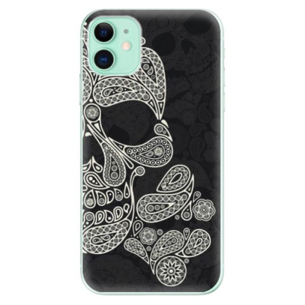 Silikonové odolné pouzdro iSaprio - Mayan Skull na mobil Apple iPhone 11