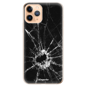 Silikonové odolné pouzdro iSaprio - Broken Glass 10 na mobil Apple iPhone 11 Pro