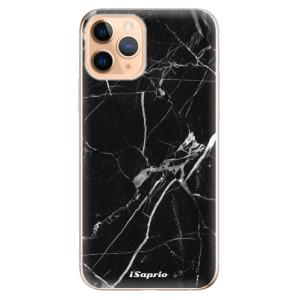 Silikonové odolné pouzdro iSaprio - black Marble 18 na mobil Apple iPhone 11 Pro