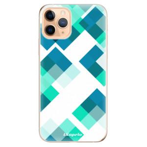 Silikonové odolné pouzdro iSaprio - Abstract Squares 11 na mobil Apple iPhone 11 Pro