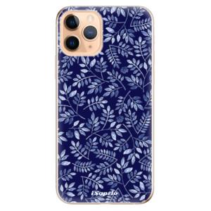 Silikonové odolné pouzdro iSaprio - Blue Leaves 05 na mobil Apple iPhone 11 Pro