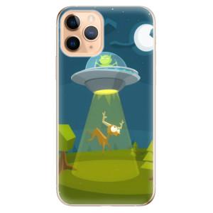 Silikonové odolné pouzdro iSaprio - Alien 01 na mobil Apple iPhone 11 Pro