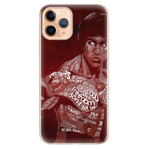 Silikonové odolné pouzdro iSaprio - Bruce Lee na mobil Apple iPhone 11 Pro