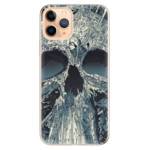 Silikonové odolné pouzdro iSaprio - Abstract Skull na mobil Apple iPhone 11 Pro