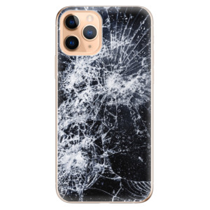 Silikonové odolné pouzdro iSaprio - Cracked na mobil Apple iPhone 11 Pro