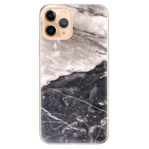 Silikonové odolné pouzdro iSaprio - BW Marble na mobil Apple iPhone 11 Pro