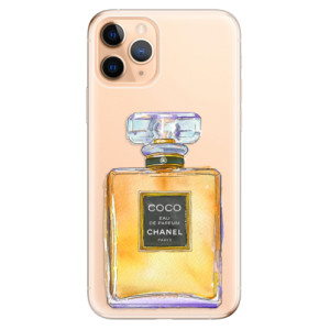 Silikonové odolné pouzdro iSaprio - Chanel Gold na mobil Apple iPhone 11 Pro