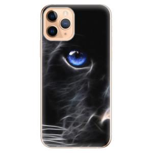 Silikonové odolné pouzdro iSaprio - black Puma na mobil Apple iPhone 11 Pro