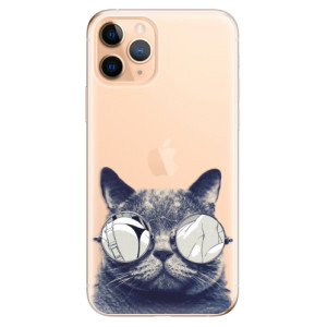 Silikonové odolné pouzdro iSaprio - Crazy Cat 01 na mobil Apple iPhone 11 Pro