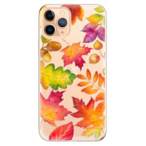 Silikonové odolné pouzdro iSaprio - Autumn Leaves 01 na mobil Apple iPhone 11 Pro
