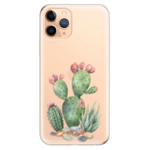 Silikonové odolné pouzdro iSaprio - Cacti 01 na mobil Apple iPhone 11 Pro
