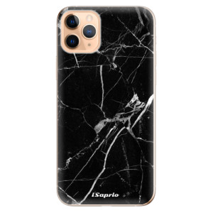 Silikonové odolné pouzdro iSaprio - black Marble 18 na mobil Apple iPhone 11 Pro Max