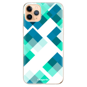 Silikonové odolné pouzdro iSaprio - Abstract Squares 11 na mobil Apple iPhone 11 Pro Max