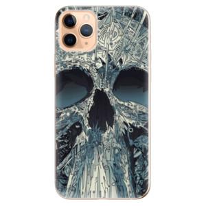 Silikonové odolné pouzdro iSaprio - Abstract Skull na mobil Apple iPhone 11 Pro Max