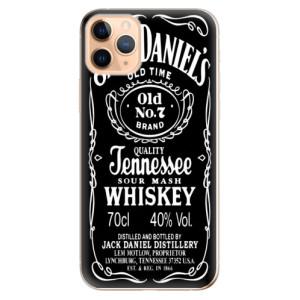 Silikonové odolné pouzdro iSaprio - Jack Daniels na mobil Apple iPhone 11 Pro Max