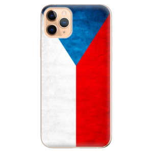 Silikonové odolné pouzdro iSaprio - Czech Flag na mobil Apple iPhone 11 Pro Max