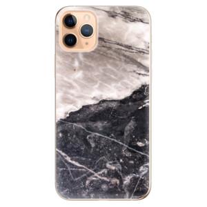 Silikonové odolné pouzdro iSaprio - BW Marble na mobil Apple iPhone 11 Pro Max