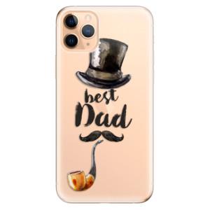 Silikonové odolné pouzdro iSaprio - Best Dad na mobil Apple iPhone 11 Pro Max