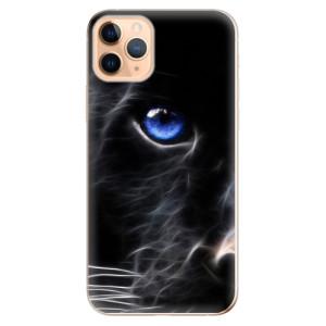 Silikonové odolné pouzdro iSaprio - black Puma na mobil Apple iPhone 11 Pro Max