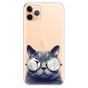 Silikonové odolné pouzdro iSaprio - Crazy Cat 01 na mobil Apple iPhone 11 Pro Max