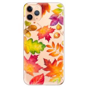 Silikonové odolné pouzdro iSaprio - Autumn Leaves 01 na mobil Apple iPhone 11 Pro Max