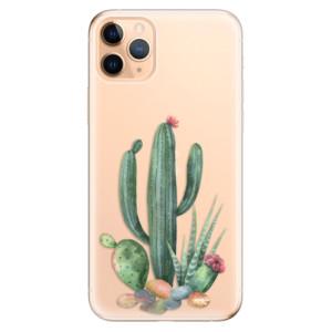 Silikonové odolné pouzdro iSaprio - Cacti 02 na mobil Apple iPhone 11 Pro Max