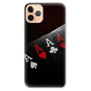 Silikonové odolné pouzdro iSaprio - Poker na mobil Apple iPhone 11 Pro Max - poslední kus za tuto cenu