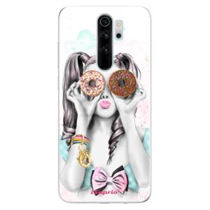 Silikonové odolné pouzdro iSaprio - Donuts 10 na mobil Xiaomi Redmi Note 8 Pro