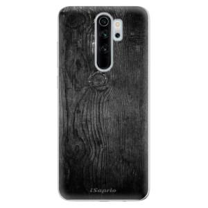 Silikonové odolné pouzdro iSaprio - black Wood 13 na mobil Xiaomi Redmi Note 8 Pro