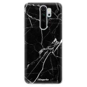 Silikonové odolné pouzdro iSaprio - black Marble 18 na mobil Xiaomi Redmi Note 8 Pro