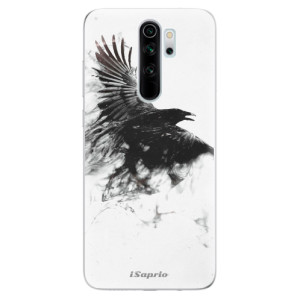 Silikonové odolné pouzdro iSaprio - Dark Bird 01 na mobil Xiaomi Redmi Note 8 Pro