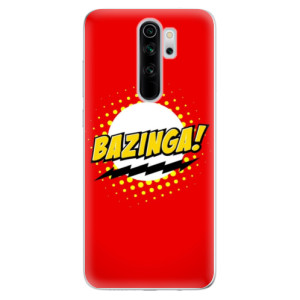 Silikonové odolné pouzdro iSaprio - Bazinga 01 na mobil Xiaomi Redmi Note 8 Pro