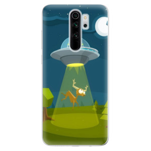 Silikonové odolné pouzdro iSaprio - Alien 01 na mobil Xiaomi Redmi Note 8 Pro