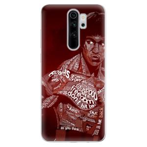 Silikonové odolné pouzdro iSaprio - Bruce Lee na mobil Xiaomi Redmi Note 8 Pro