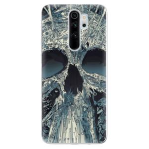 Silikonové odolné pouzdro iSaprio - Abstract Skull na mobil Xiaomi Redmi Note 8 Pro
