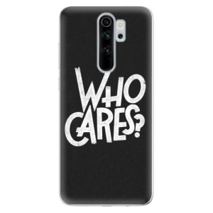 Silikonové odolné pouzdro iSaprio - Who Cares na mobil Xiaomi Redmi Note 8 Pro