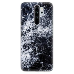 Silikonové odolné pouzdro iSaprio - Cracked na mobil Xiaomi Redmi Note 8 Pro