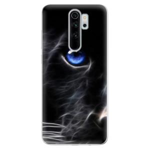 Silikonové odolné pouzdro iSaprio - black Puma na mobil Xiaomi Redmi Note 8 Pro